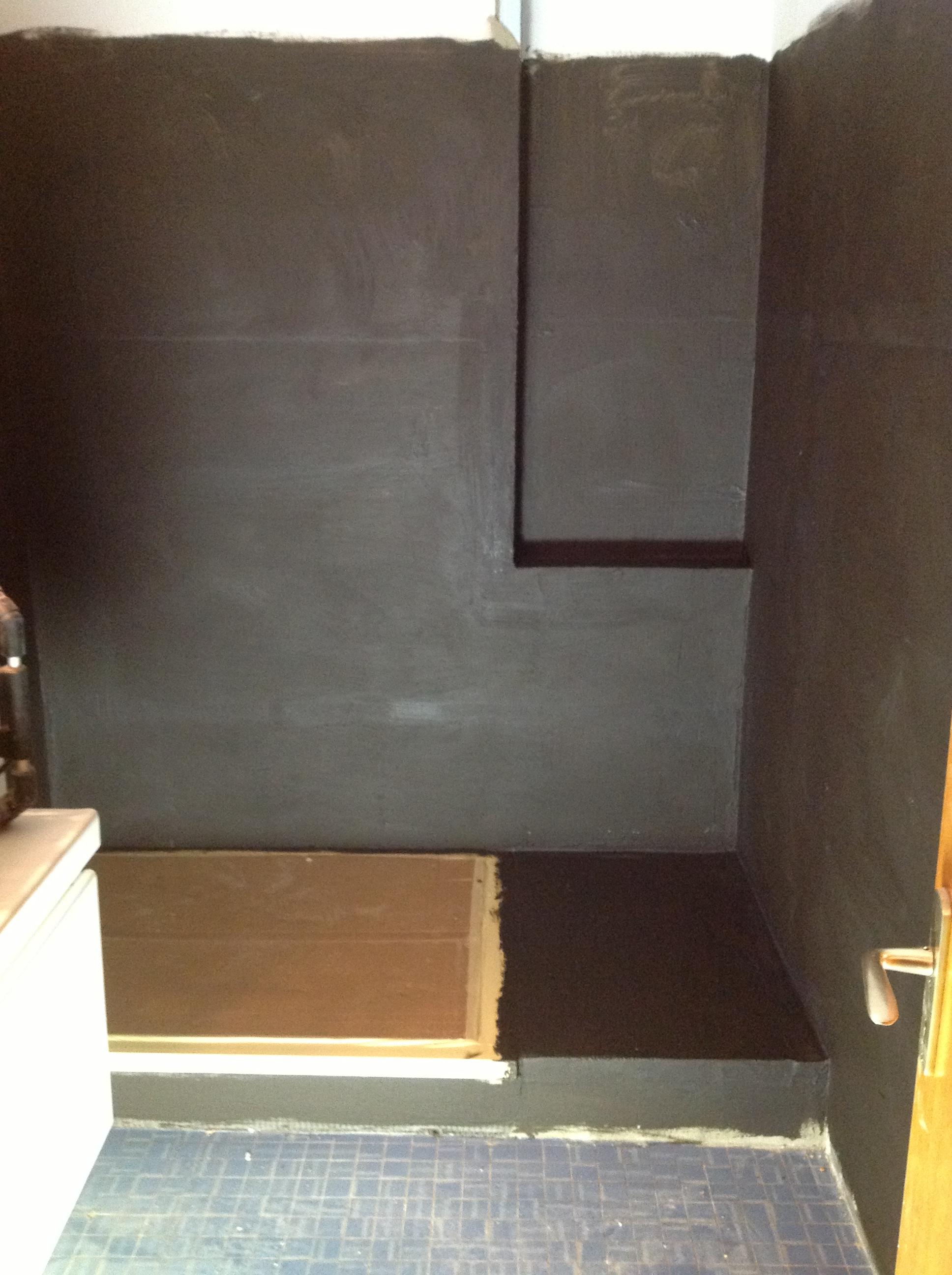 R novation salle de bains am nagements olivy for Etancheite sous carrelage salle de bain